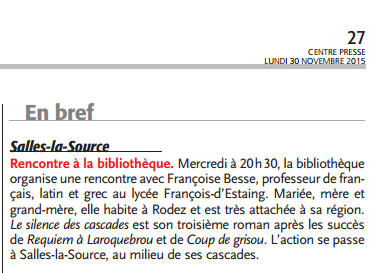Capture article centre Presse Salles la Source